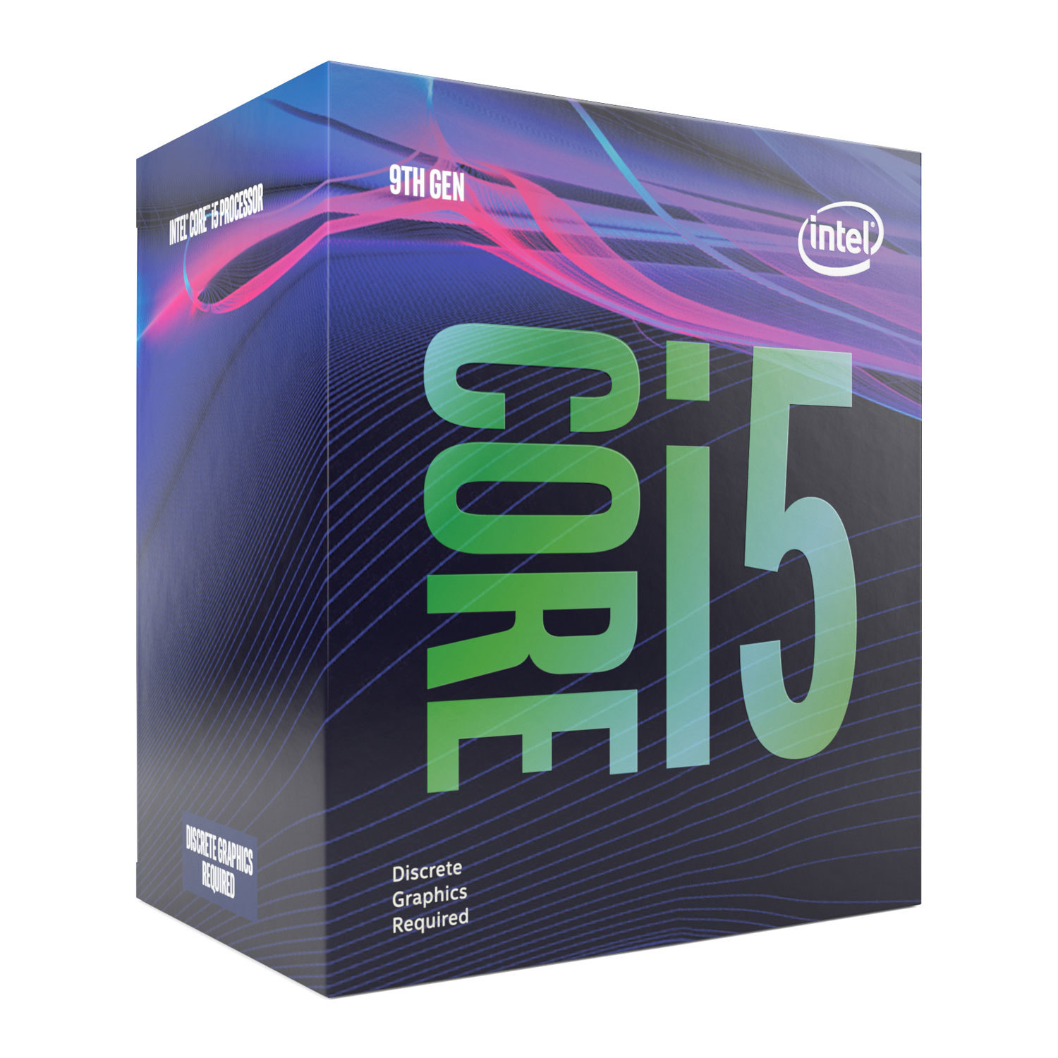 INTEL CORE i5-9600KF 9MB 4.60GHz 1151p VGASIZ FANSIZ